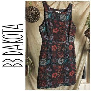 BB Dakota Floral Tapestry Dress